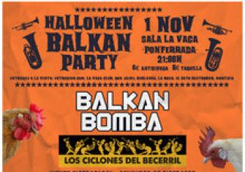 Balkan Halloween Party. En Ponferrada