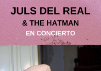 Juls Del Real & The hatman en concierto. En Madrid
