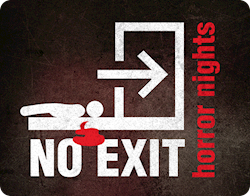 Entradas No Exit Horror Nights. En Arguedas