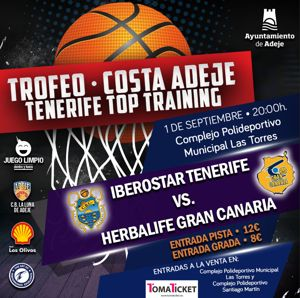 Trofeo Costa Adeje- Tenerife Top Training