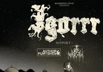 IGORRR + Author & Punisher + Otto Von Schirach en Madrid