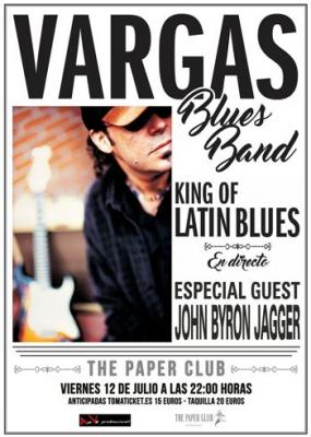 Vargas Blues Band con John Byron Jagger