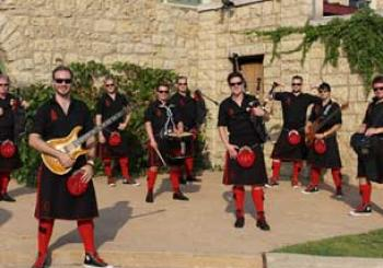 Red Hot Chilli Pipers en Manchester