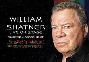 Entradas William Shatner Star Trek II The Wrath Of Khan en Eventim Apollo