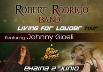 ROBERT RODRIGO BAND Feat JOHNNY GIOELI (Bilbao)