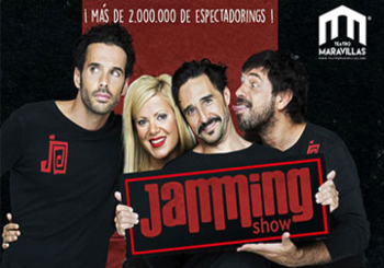 30 - 40% Dto JAMMING SHOW en Madrid