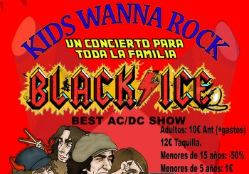 BLACK ICE (BEST AC DC SHOW) KIDS WANNA ROCK en Zaragoza