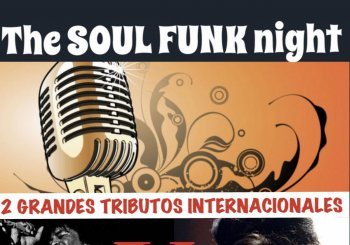THE SOUL FUNK NIGHT en Ayora