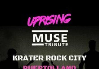 UPRISING MUSE TRIBUTE EN KRATER ROCK CITY, PUERTOLLANO (CIUDAD REAL)