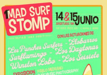 1er Mad Surf Stomp. En Madrid