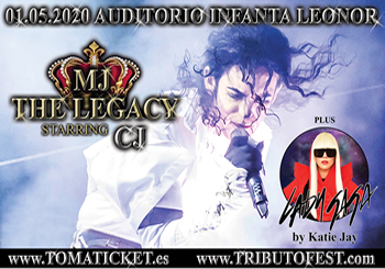 MJ The Legacy plus Lady Gaga en Tenerife