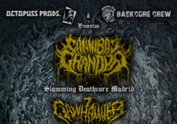 Cannibal Grandpa · ClawHammer · Phrymerial · Devorate The Universe. En Barcelona