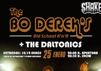 The BO DERECK´S + The Daltonics. En Bilbao