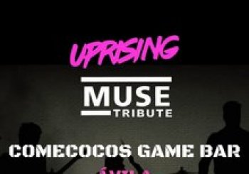 UPRISING MUSE TRIBUTE EN COMECOCOS GAME BAR, ÁVILA