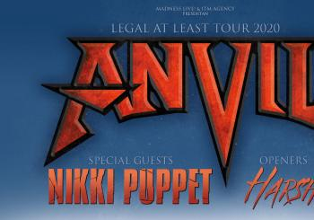 Anvil + Nikki Puppet + Harsh en Murcia