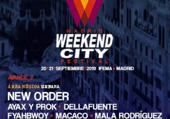 Concierto Festival Weekend City Madrid en Madrid