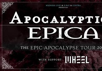 Apocalyptica + Epica + Wheel en Madrid
