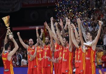 Selección de Baloncesto Masculino de España