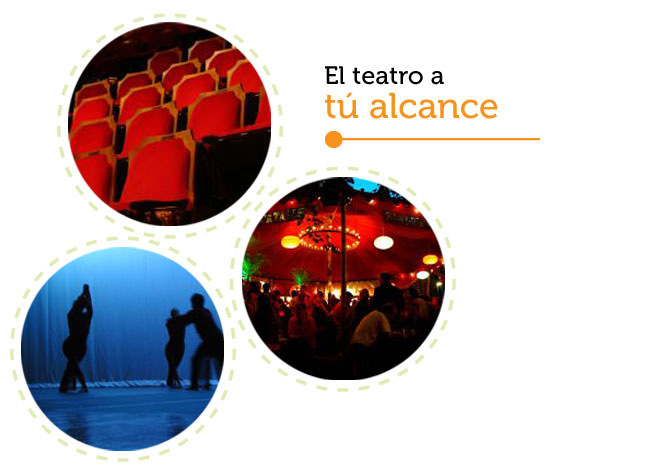 Works, workshops, meetings, ... the Theater at your fingertips.